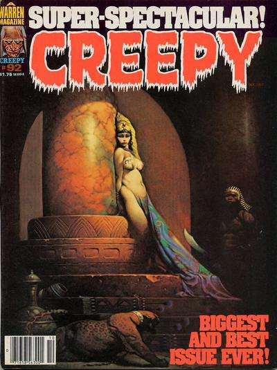 Creepy #92 comic books - cover scans photos Creepy #92 comic books - covers, picture gallery