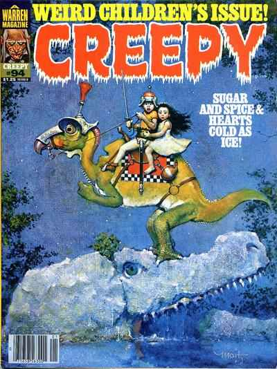 Creepy #94 comic books - cover scans photos Creepy #94 comic books - covers, picture gallery