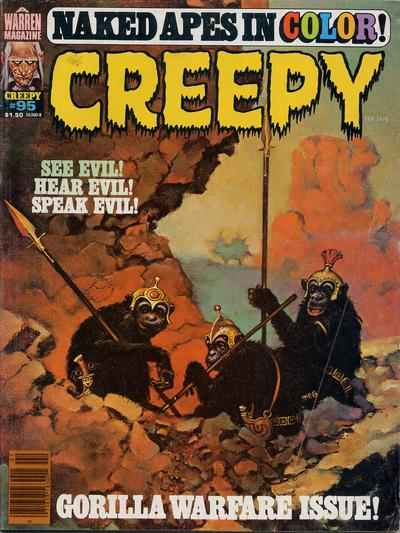 Creepy #95 comic books - cover scans photos Creepy #95 comic books - covers, picture gallery