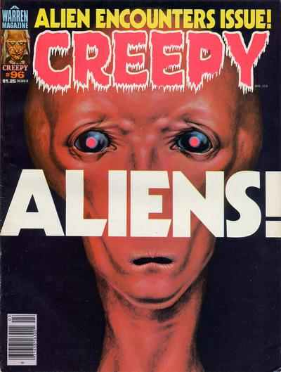 Creepy #96 comic books - cover scans photos Creepy #96 comic books - covers, picture gallery