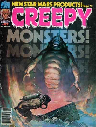 Creepy #97 comic books - cover scans photos Creepy #97 comic books - covers, picture gallery