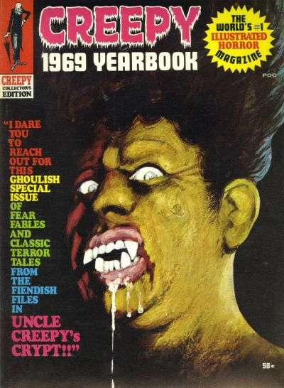 Creepy #1969 comic books for sale