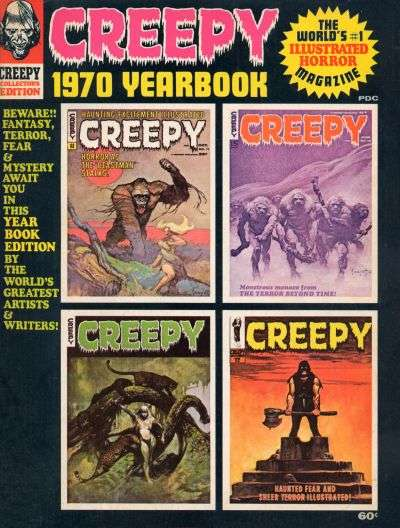 Creepy #1970 comic books for sale