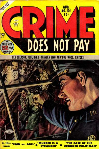 Crime Does Not Pay #101 comic books for sale