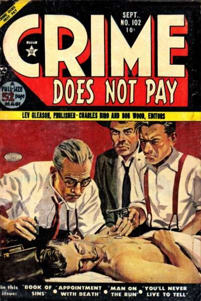 Crime Does Not Pay #102 comic books for sale
