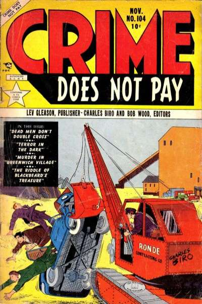 Crime Does Not Pay #104 comic books for sale