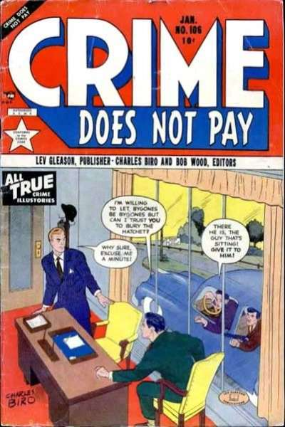 Crime Does Not Pay #106 comic books for sale