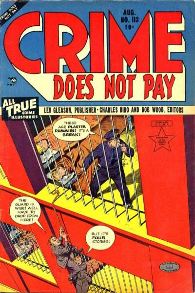 Crime Does Not Pay #113 comic books for sale