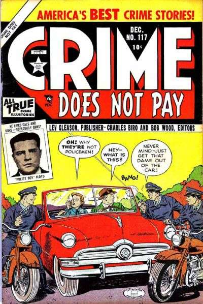Crime Does Not Pay #117 comic books for sale