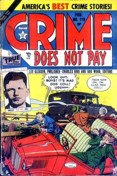 Crime Does Not Pay #119 comic books for sale