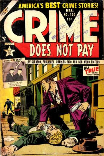 Crime Does Not Pay #120 comic books for sale