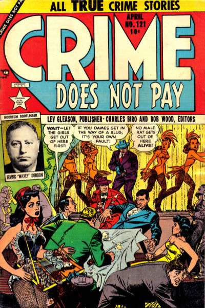Crime Does Not Pay #121 comic books for sale