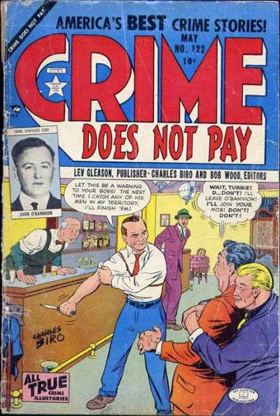 Crime Does Not Pay #122 comic books for sale