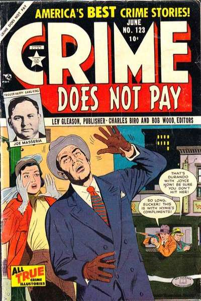 Crime Does Not Pay #123 comic books for sale