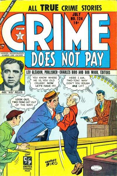 Crime Does Not Pay #124 comic books for sale