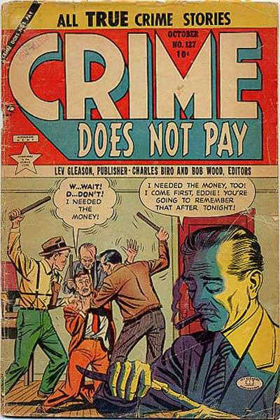 Crime Does Not Pay #127 comic books for sale