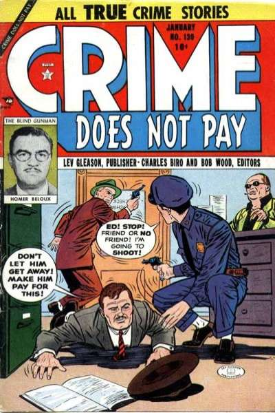 Crime Does Not Pay #130 comic books for sale