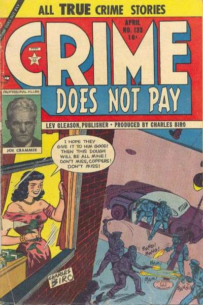 Crime Does Not Pay #133 comic books for sale