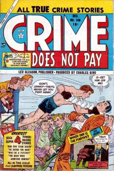 Crime Does Not Pay #140 comic books for sale