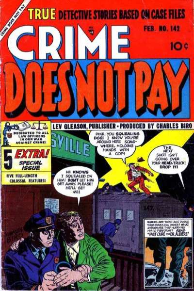 Crime Does Not Pay #142 comic books for sale