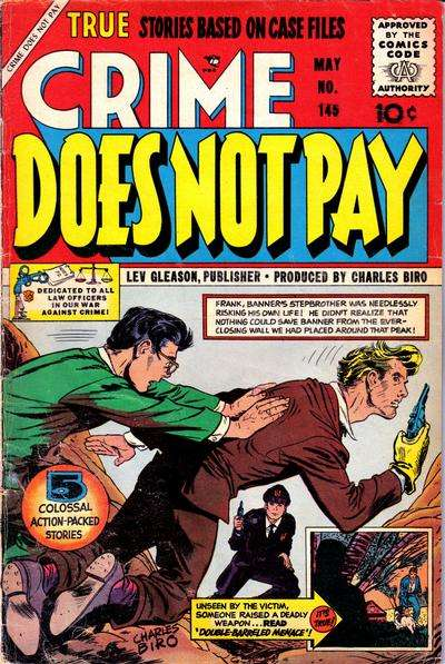 Crime Does Not Pay #145 comic books for sale