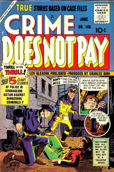 Crime Does Not Pay #146 comic books for sale