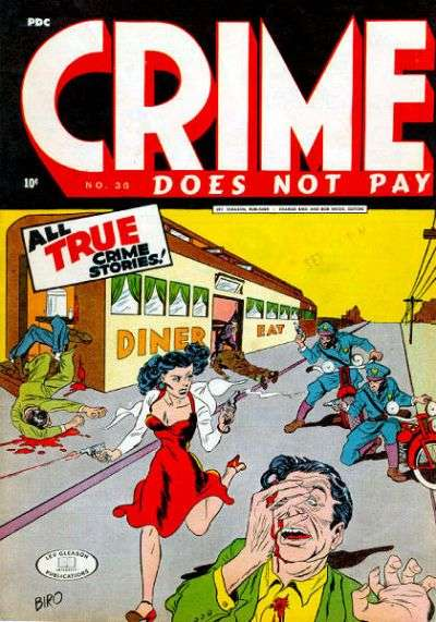 Crime Does Not Pay #36 Comic Books - Covers, Scans, Photos  in Crime Does Not Pay Comic Books - Covers, Scans, Gallery