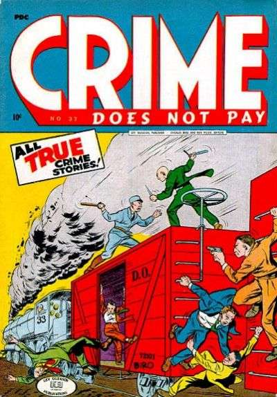 Crime Does Not Pay #37 Comic Books - Covers, Scans, Photos  in Crime Does Not Pay Comic Books - Covers, Scans, Gallery