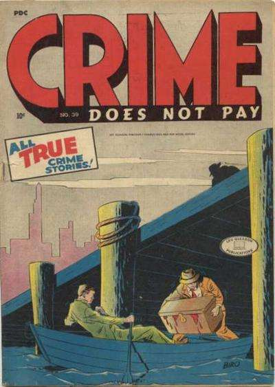 Crime Does Not Pay #39 comic books for sale