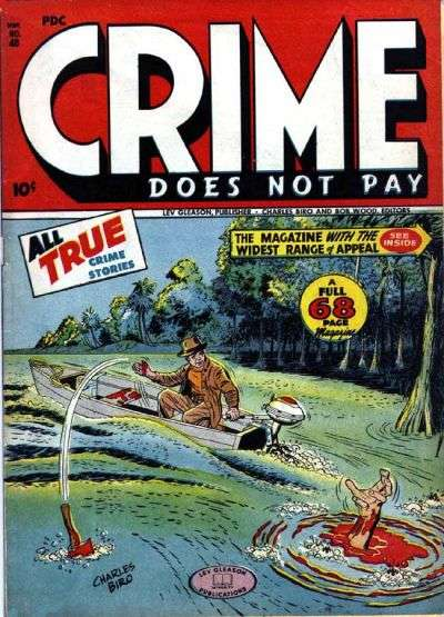 Crime Does Not Pay #48 Comic Books - Covers, Scans, Photos  in Crime Does Not Pay Comic Books - Covers, Scans, Gallery