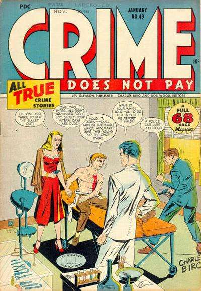 Crime Does Not Pay #49 comic books for sale