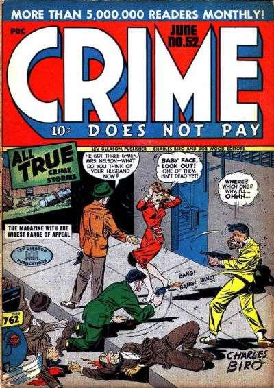 Crime Does Not Pay #52 comic books for sale