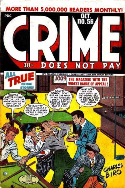 Crime Does Not Pay #56 Comic Books - Covers, Scans, Photos  in Crime Does Not Pay Comic Books - Covers, Scans, Gallery