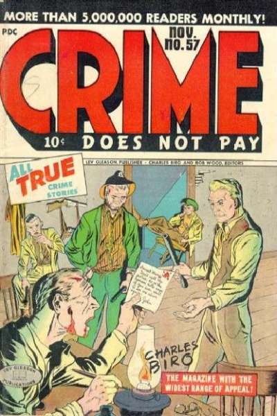 Crime Does Not Pay #57 comic books for sale