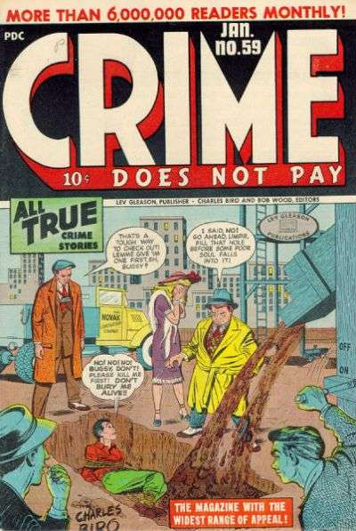 Crime Does Not Pay #59 comic books for sale