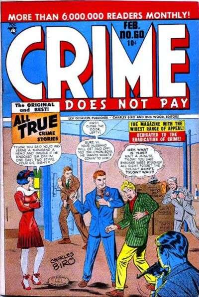 Crime Does Not Pay #60 comic books for sale