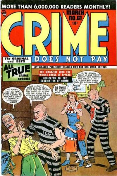 Crime Does Not Pay #61 comic books for sale
