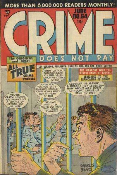 Crime Does Not Pay #64 comic books for sale