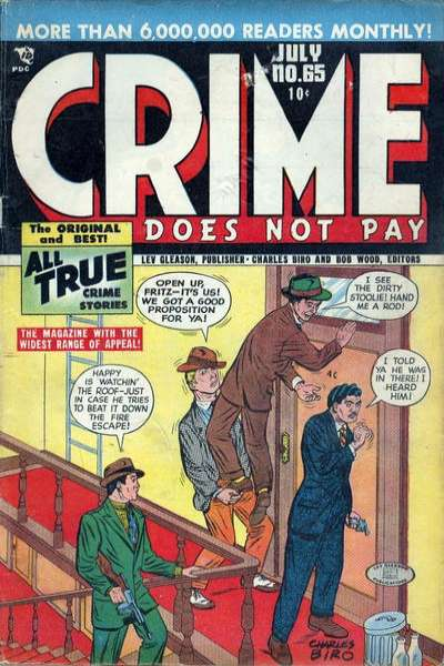 Crime Does Not Pay #65 comic books for sale