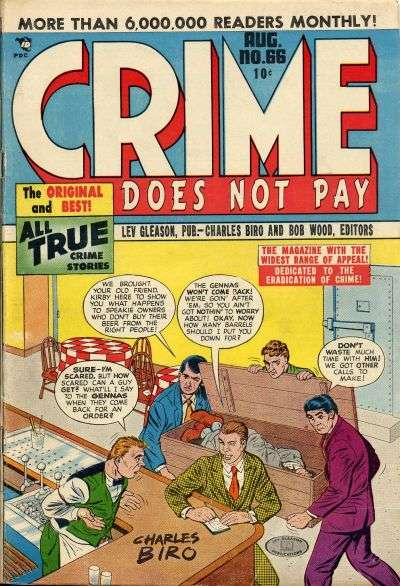 Crime Does Not Pay #66 comic books for sale