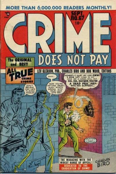 Crime Does Not Pay #67 comic books for sale