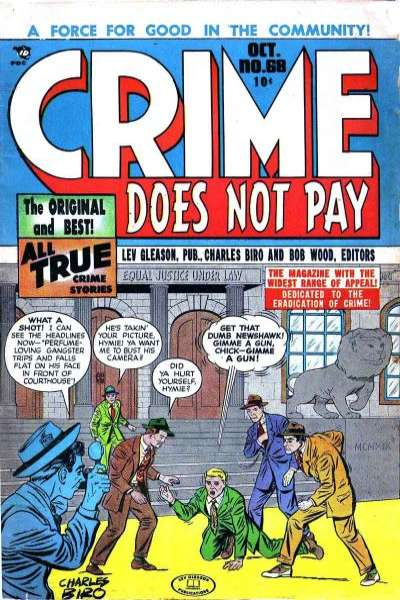 Crime Does Not Pay #68 comic books for sale