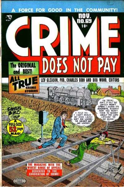 Crime Does Not Pay #69 comic books for sale