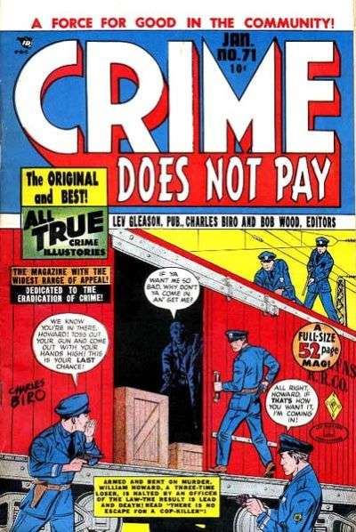 Crime Does Not Pay #71 comic books for sale