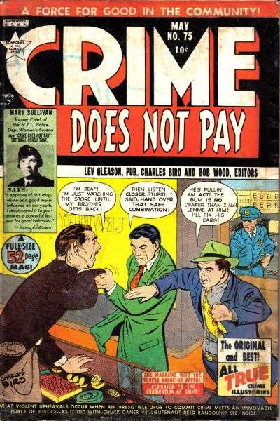 Crime Does Not Pay #75 comic books for sale