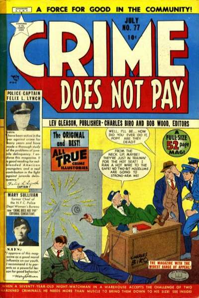 Crime Does Not Pay #77 comic books for sale