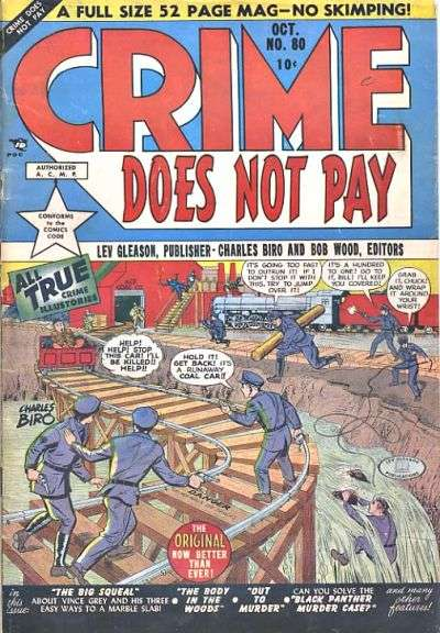 Crime Does Not Pay #80 comic books for sale