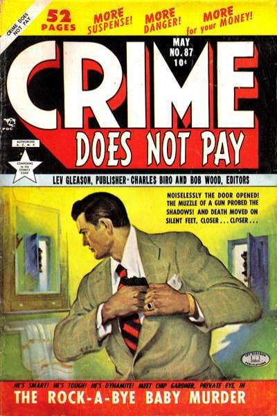 Crime Does Not Pay #87 comic books for sale