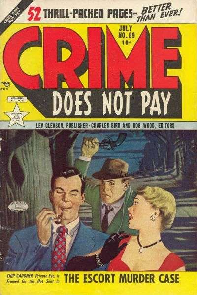 Crime Does Not Pay #89 comic books for sale