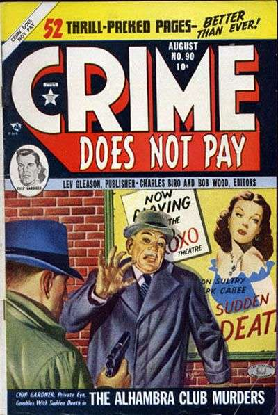Crime Does Not Pay #90 comic books for sale